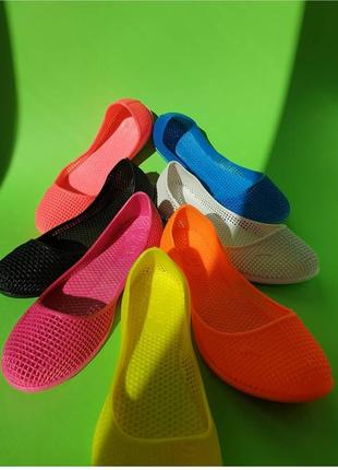 Мыльницы, пляжная обувь силиконовые балетки