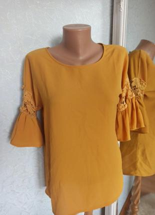 Блуза кружевная шикарная