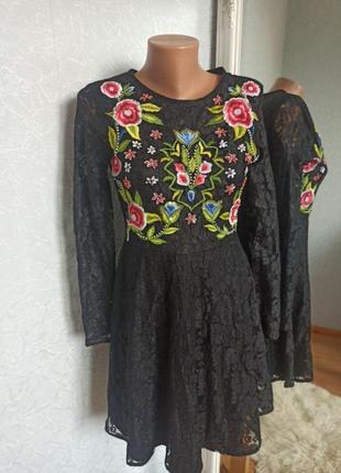 Платье вышиванка вишиванка сукня шикарна