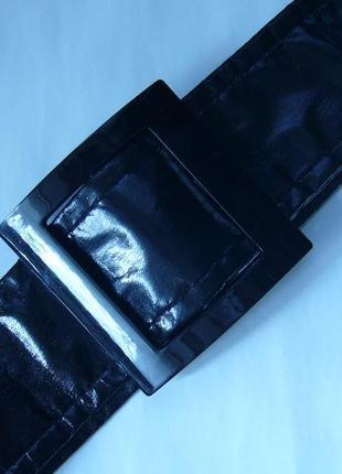 Мягкий черный пояс