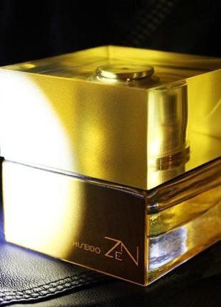 Shiseido zen gold_original_eau de parfum 7 мл_затест парфюм.вода