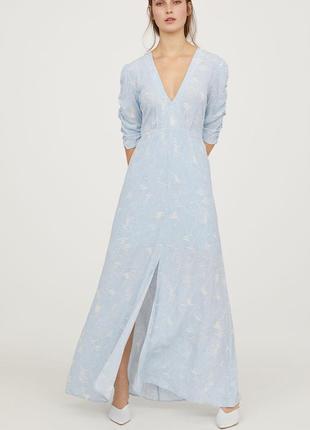 Платье с открытой спинкой h&m