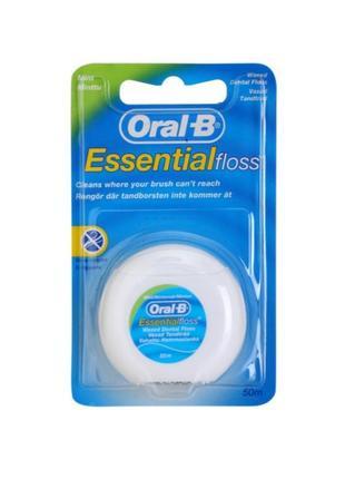 Зубна нитка флос зубная нить oral-b