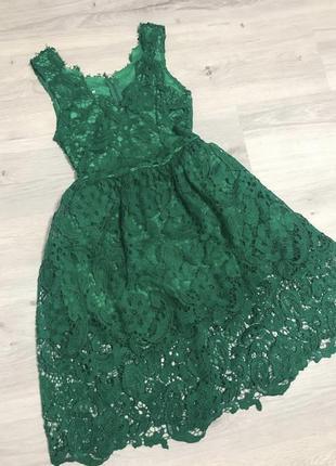Изумрудное 👗 платье