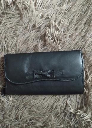 Кожаный кошелёк m&s