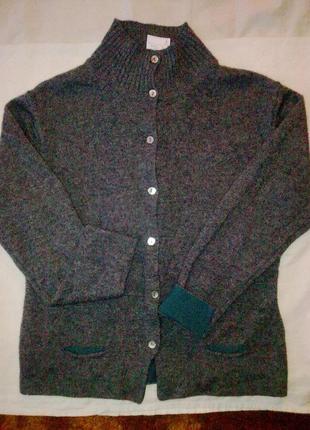 70%шерсть, 30% акрил , кофта woolmark