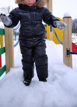 Зимовий комбінезон доя хлопчика