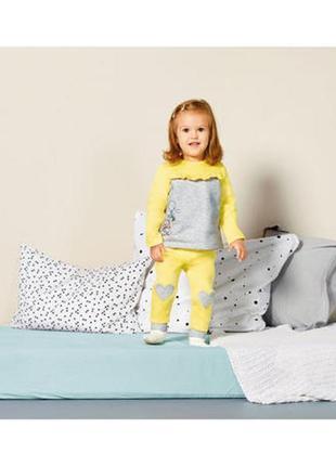 Теплый костюм baby disney для девочки 6-12 мес