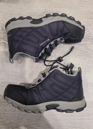 Детские демисезонные ботинки columbia