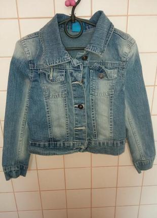 Джинсовая куртка курточка джинсовый пиджак