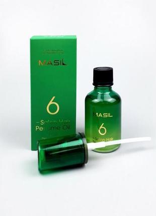 Парфюмированное масло для волос masil 6 salon hair perfume oil, 50 мл