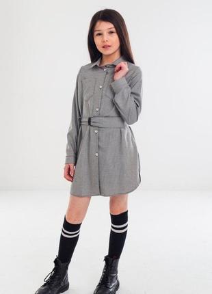 Неймовірне плаття сорочка. чудово як для школи так і для прогулянок! якість супер
