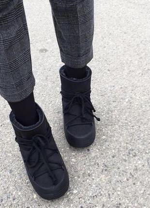 Новые луноходы inuikii, швейцария сапоги на меху валенки moon boot зима ботинки премиум