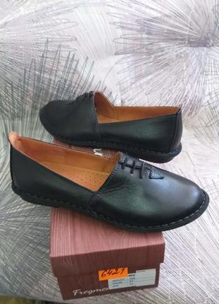 Комфортные женские туфли на плоской подошве 37-42 р.новинка