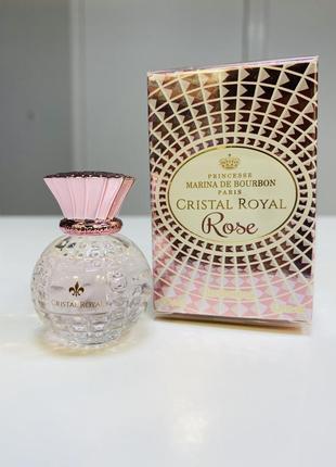 Миниатюра marina de bourbon - cristal royal rose/оригинал.