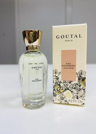 Миниатюра annick goutal - eau d'hadrien/оригинал.