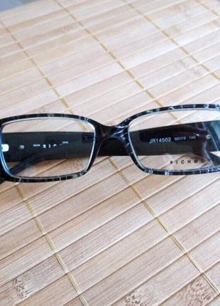 Распродажа фирменная оправа под линзы,очки оригинал richmond jr14502 новая5 фото
