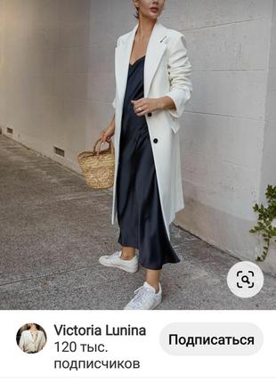 Сарафан платье миди  бельевой стиль черное оверсайз свободное
