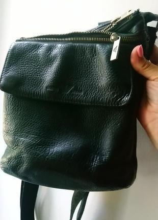 Giorgio armani мужская сумка ,натуральная кожа