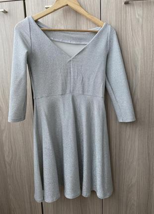 Трикотажна сукня2 фото