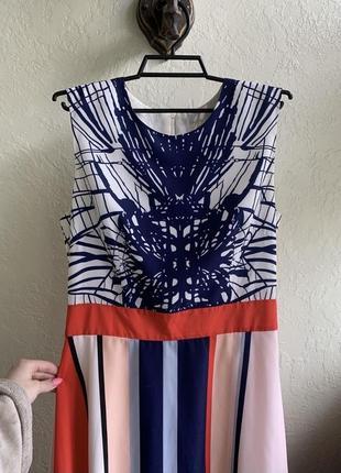 Очень красивое, эффектное платье 100% шёлк