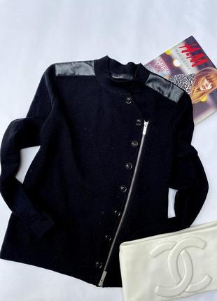 Шерстяная кофта кардиган от karen millen 93 % шерсть