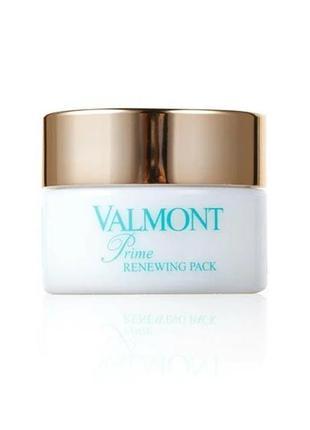 Восстанавливающая анти-стресс крем-маска valmont prime renewing pack 15 ml. travel size