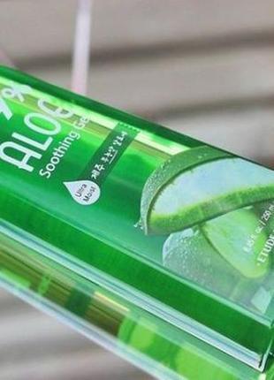 Зволожувальний гель для обличчя і тіла з 99% екстрактом алое etude house aloe soothing gel
