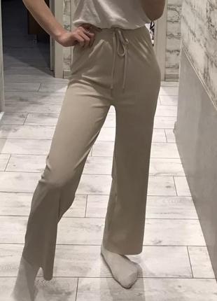 Брюки широкие летние, лёгкие широкие штаны на лето, штани широкі літні