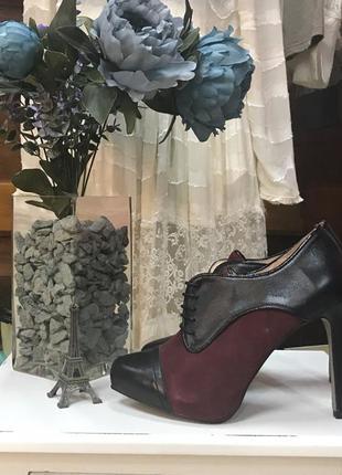 Аккуратные и очень красивые туфли ботильоны zalando испания