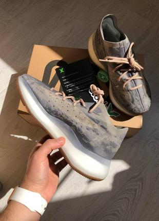 Женские кроссовки adidas yeezy boost 380 mist наложка
