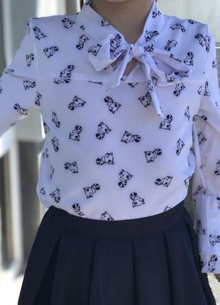 Блуза для девочки, рр 116-134 см