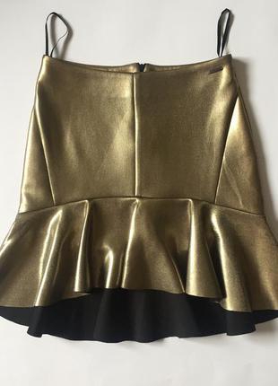 Акція!2-га річ в подарунок🎁🎉трендова дууже стильна юбка (колір вживу красивіший) mohito