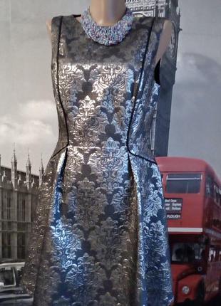 Італійська жакардова сукня, неймовірно шикарна