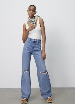Нові трендові джинси zara