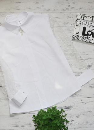 Блузка в школу, школьная блузка