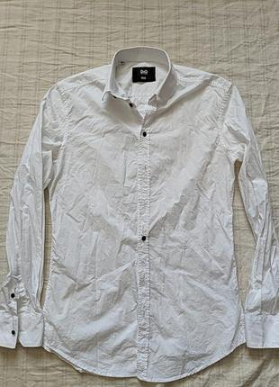 Рубашка, плечи 48, полуобхват 54, длина рукава 67, длина 80.