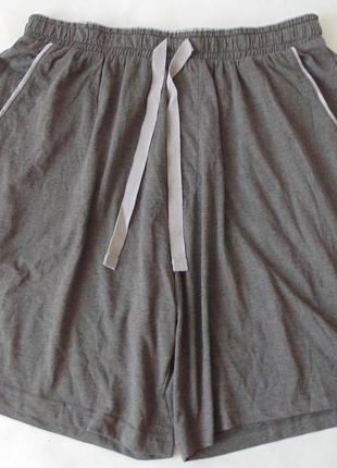 Домашние пижамные трикотажные шорты george англия с, м, л