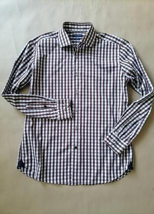 Tommy hilfiger мужская рубашка на размер xl