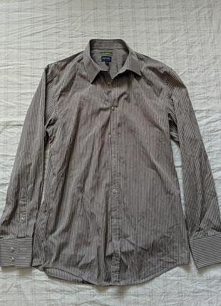 Рубашка, плечи 48, полуобхват 56, длина рукава 66, длина 80