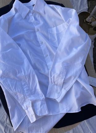 Белая рубашка batistini