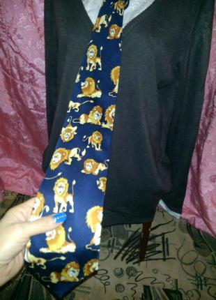 Стильный галстук tino paradise italy