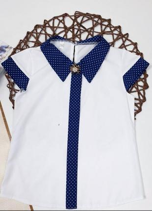 Нарядная блузка на девочек