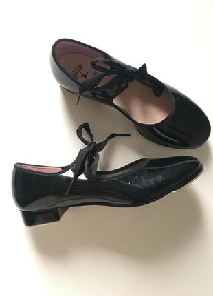Степовки, танцевальные туфли для степа, чечетка 22см capezio