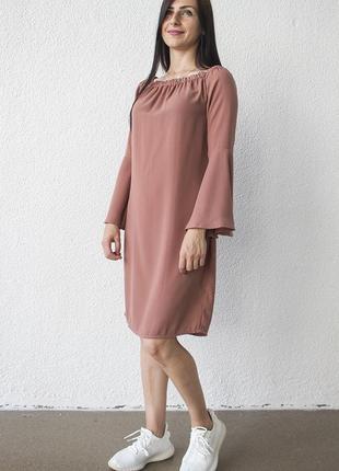 Платье женское воланы na-kd