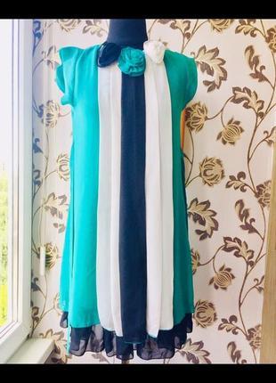 Fervente турция шифоновое платье сарафан