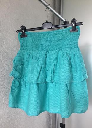 Невероятно милая и красивая юбка с воланом