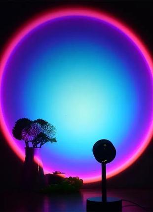 Sunset lamp лампа неоновый original