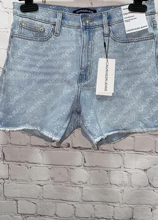 Шикарные стильные шорты calvin klein.оригинал