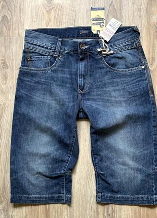 Мужские джинсовые шорты бермуды pioneer